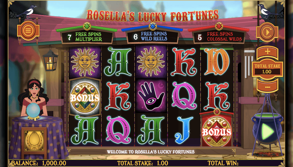 Rosellas Lucky Fortunes