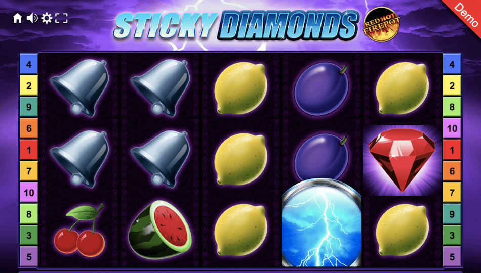Sticky Diamonds Red Hot