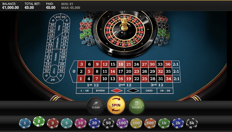 Red Tigers Roulette
