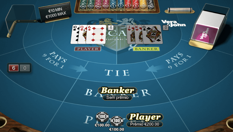 Baccarat Pro – High Limit