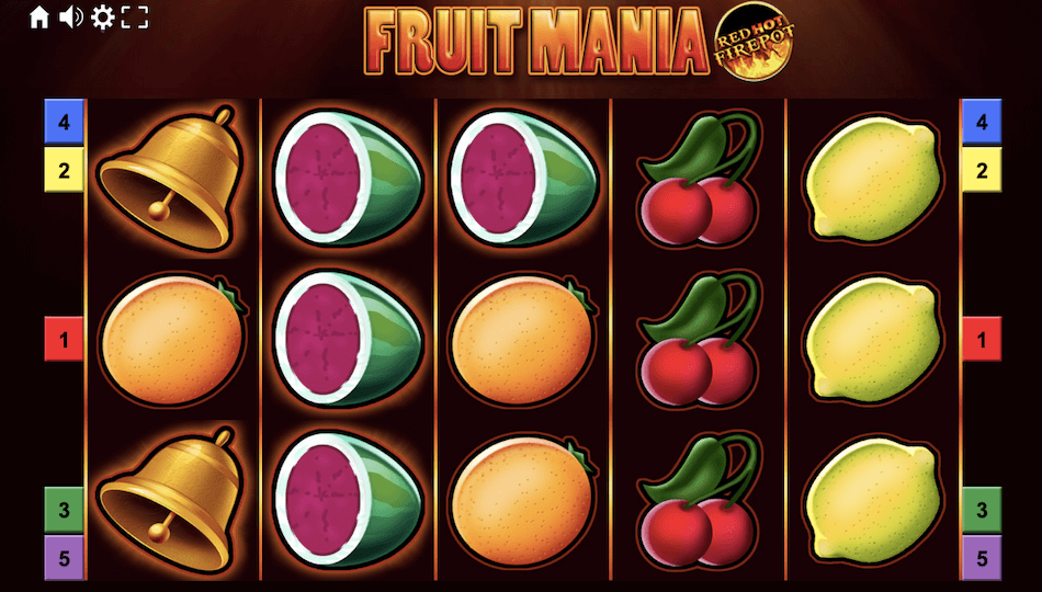 Fruit Mania Red Hot Firepot