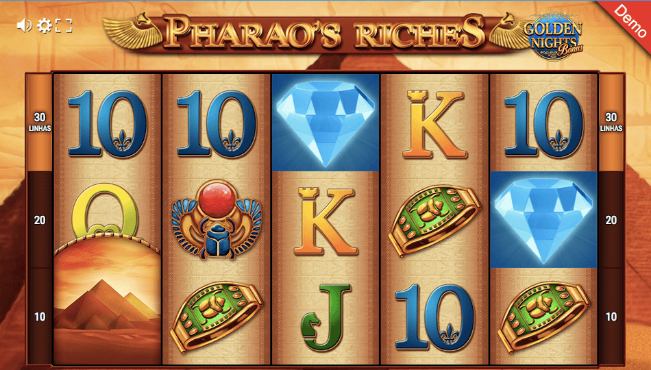 Pharaos Riches Golden Nights